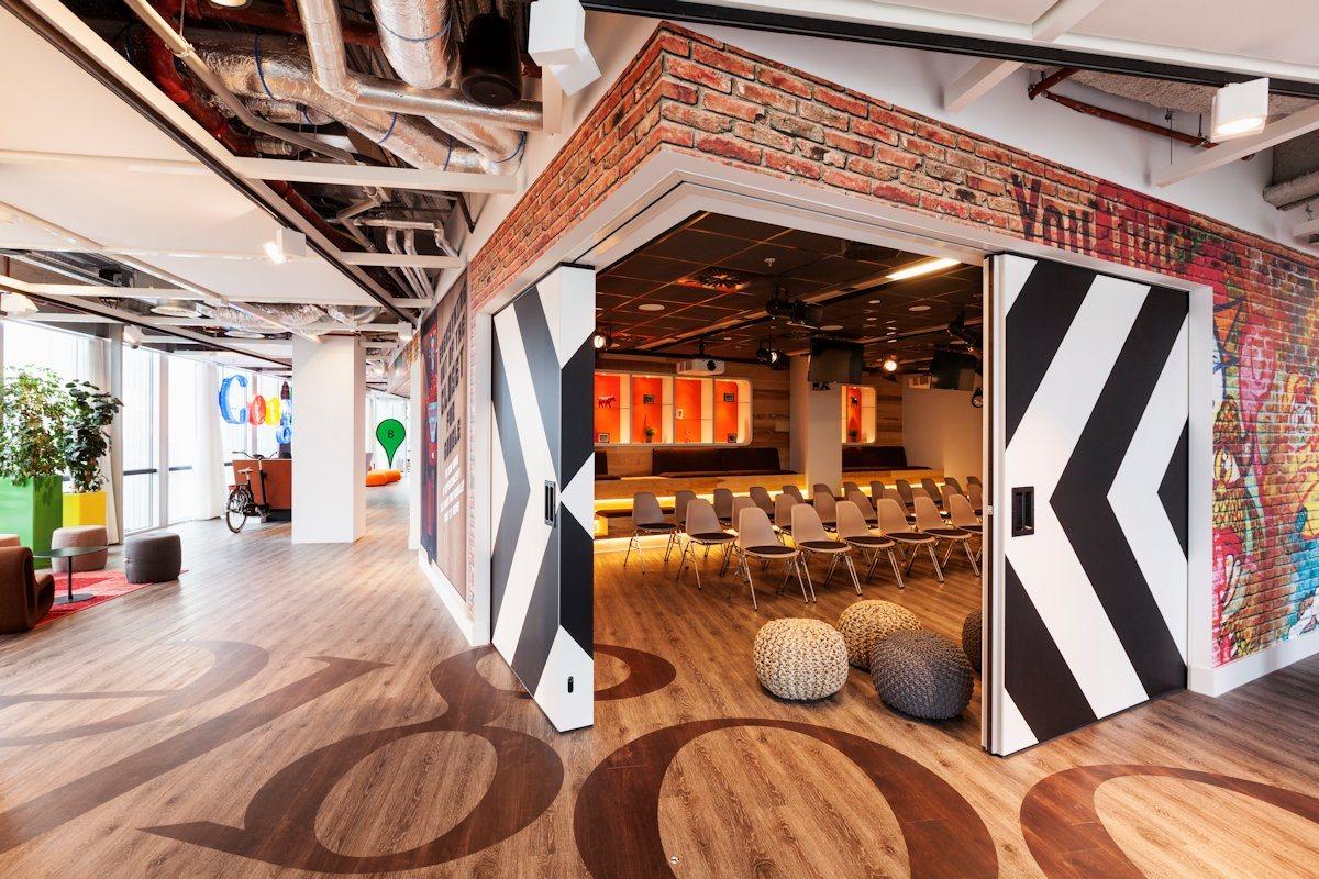 Biuro Google w Amsterdamie - zdjęcie