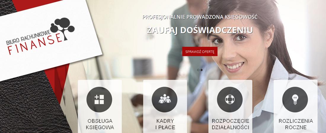 Projekt strony biura rachunkowego
