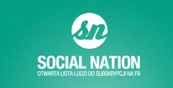 SocialNation – TOP 100 Polaków w social media