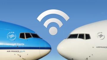 Wifi na pokładzie samolotu