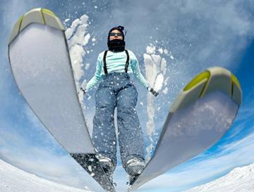 Alpine - kask narciarski