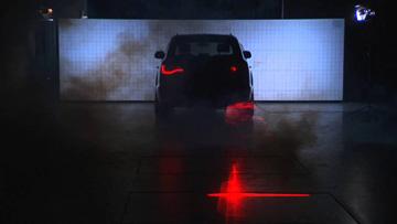 laser samochowody