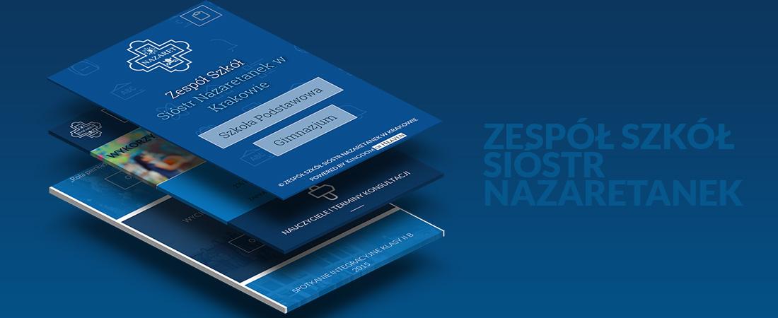 Projekty stron www - Szkoła Nazaret