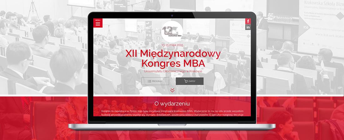 Projektowanie stron www - XII Międzynarodowy Kongres MBA