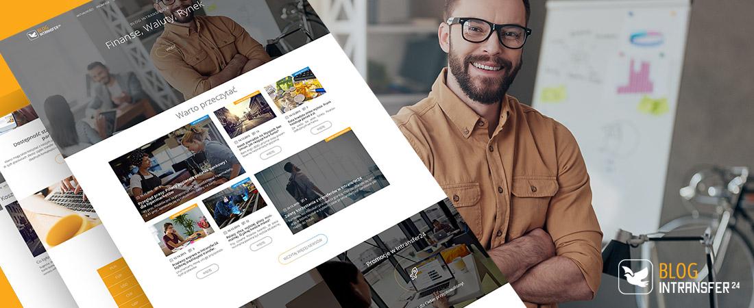 Projektowanie blogów firmowych - blog intransfer24