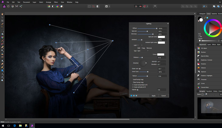Affinity Photo na Windowsa