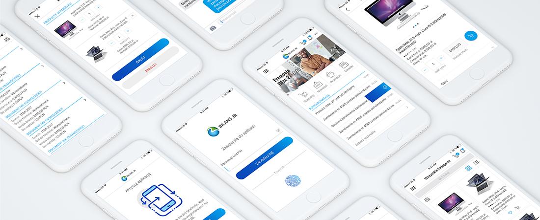 Projekt aplikacji mobilnej Bilans JR